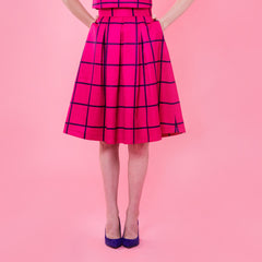 In the Pink of Something Midi Skirt