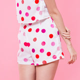 Dotty Days High Waist Shorts
