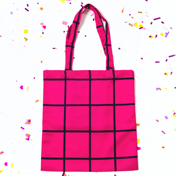 Carry Every Color Tote // Grids