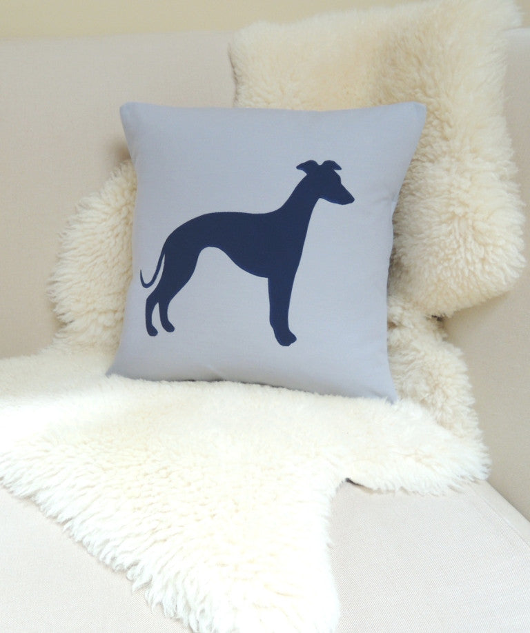 Whippet Pillow Cover