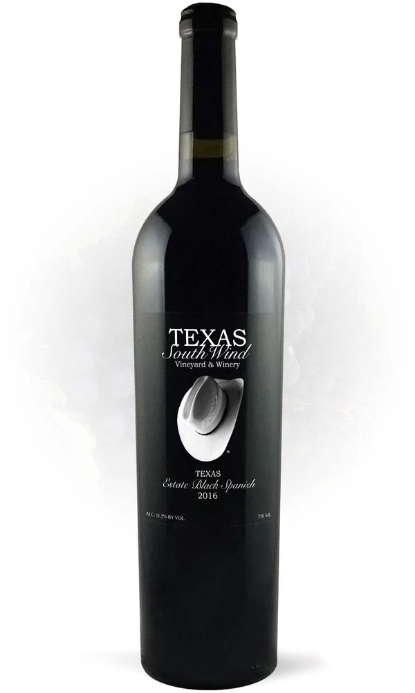 Estate Black Spanish 2017 - Texas SouthWind Vineyard and Winery