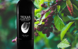Blackberry Fruit Wine - Texas SouthWind Vineyard and Winery