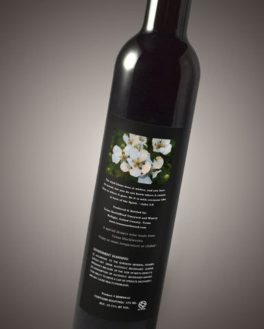 Blackberry Dessert Wine - Texas SouthWind Vineyard and Winery