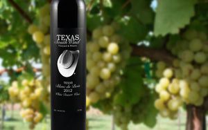 Blanc du Bois 2012 White Dessert Wine - Texas SouthWind Vineyard and Winery