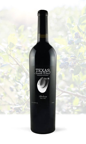 Blueberry Fruit Wine - Texas SouthWind Vineyard and Winery