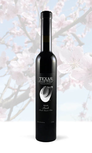 Texas Peach Dessert Wine - Texas SouthWind Vineyard and Winery