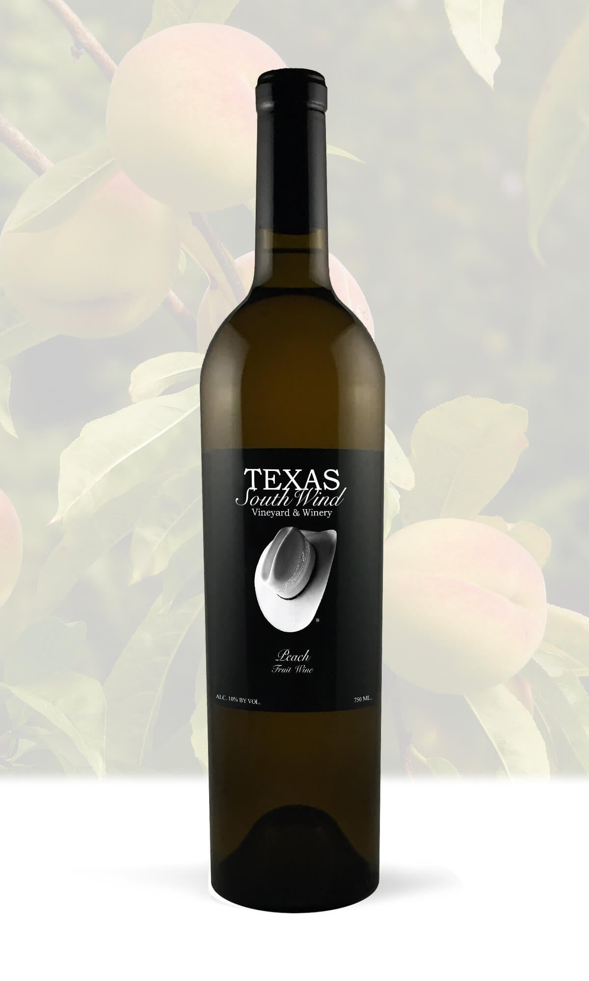 Peach Fruit Wine Texas Southwind Vineyard And Winery