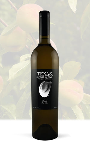 Peach Fruit Wine - Texas SouthWind Vineyard and Winery