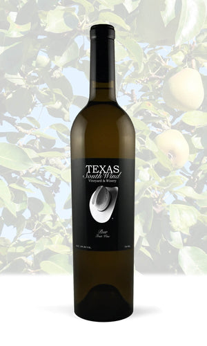 Pear Fruit Wine - Texas SouthWind Vineyard and Winery