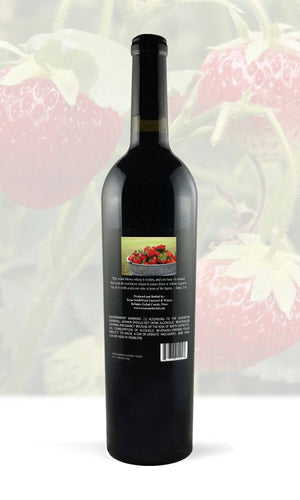 Strawberry Fruit Wine - Texas SouthWind Vineyard and Winery