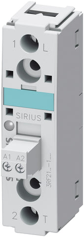 SIRIUS 3RF21 solid-state relays, single-phase, 22.5 mm