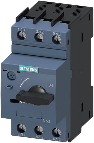 Circuit breaker size S00 for motor protection, CLASS 10 A-release 2.2