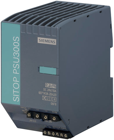 SITOP PSU300S 24 V/10 A Stabilized power supply input: 3 AC