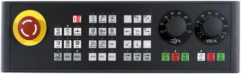 SINUMERIK 808D Machine control panel English layout