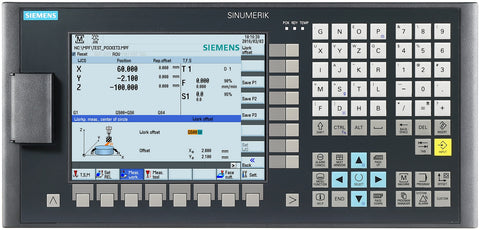 SINUMERIK 808D ADVANCED M PPU 161.3 / PPU 151.3 HORIZONTAL