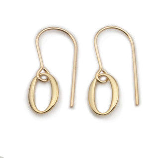 9ct Gold Earrings E1735, Handmade by Ortak