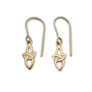 9ct Gold Earrings E1738, Handmade by Ortak