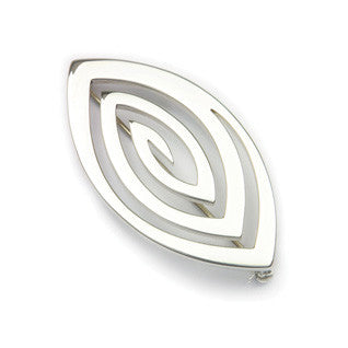 Sterling Silver Brooch B579, Handmade by Ortak
