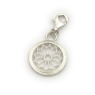 Sterling Silver Charms C283, Handmade by Ortak
