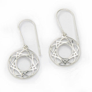 Sterling Silver Earrings E1634, Handmade by Ortak