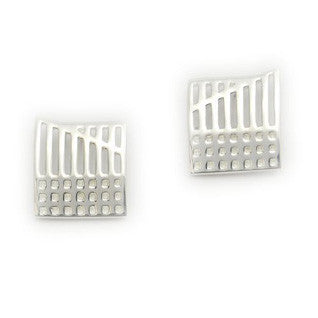 Sterling Silver Earrings E1639, Handmade by Ortak