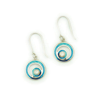 Sterling Silver Earrings ECE13, Handmade by Ortak
