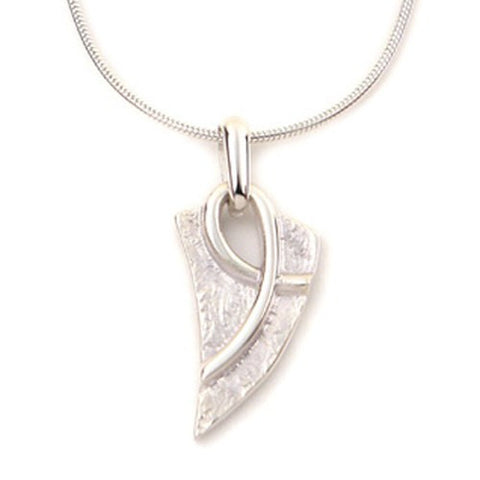 Sterling Silver or 9ct Gold Celtic Knot Pendant by Ortak Jewellery