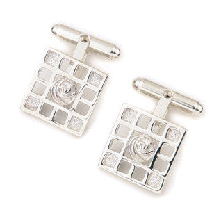 Sterling Silver or 9ct Yellow Gold Cufflinks CL92, Handmade by Ortak