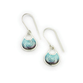 Zephyr Sterling Silver Earrings EE421Z, Handmade by Ortak