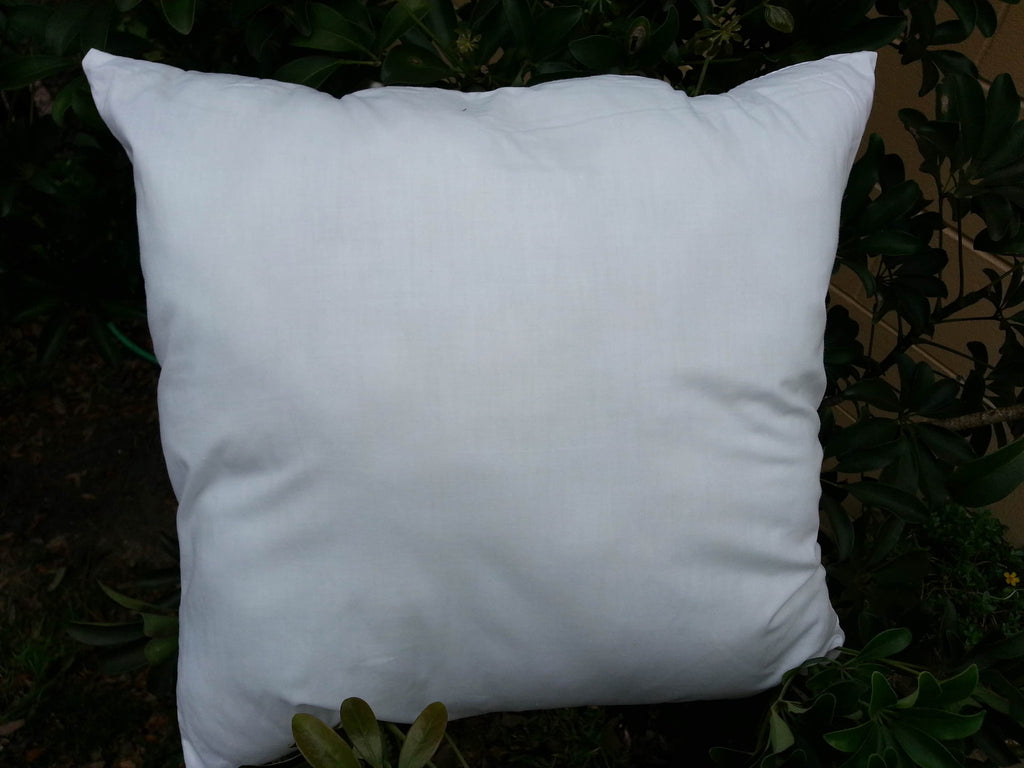 White Polyester Blend Pillow Form
