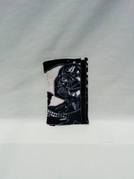 Seat Belt Cover made from Star Wars Fleece Fabric feat. Obiwan Kenobi or Darth Vader
