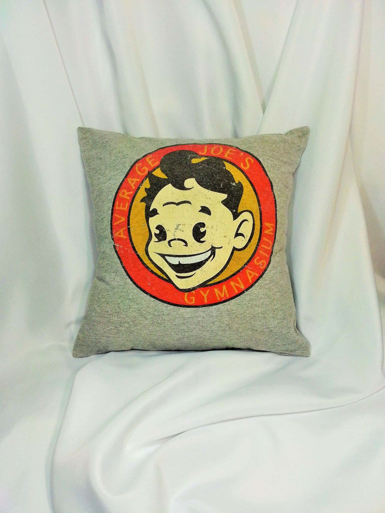 average hero, average joe, average joe's gym, Comedy bedding, comedy decor, comedy movie stuff, dodgeball, dodgeball movie, everyday hero decor, globo gym, heroes decoration, humorous movie gift, movie lover gift, Pillow, true underdog story
