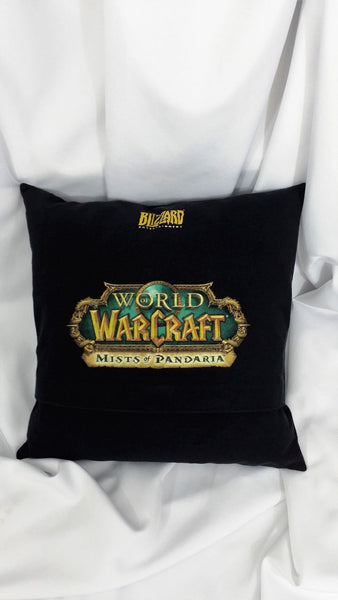 gamer couch, gamer decoration, gamer gift, man cave pillow, mens gift, Mists of Pandaria, video game bedding, video game gift, video game pillow, video game throw pillow, World of Warcraft, WoW, WoW expansion