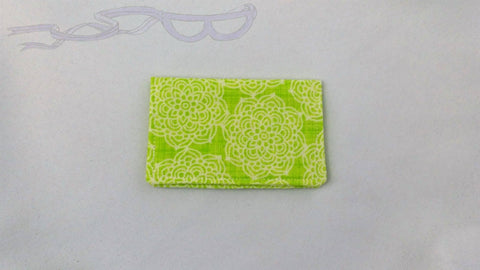 Lime Green Gift Card Holder