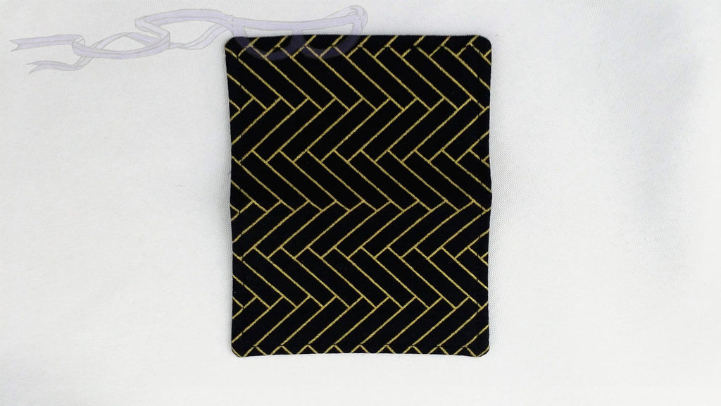 Gold & Black Gift Card Holder