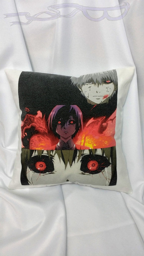 Manga bedding made from Tokyo Ghoul tshirt. 東京喰種