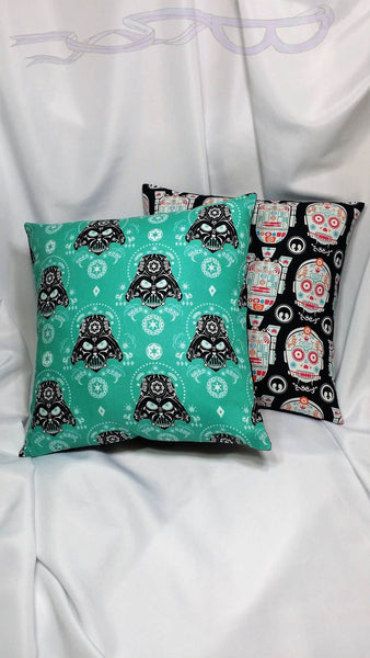 Star Wars decorative fabric made into a cotton throw pillow cover