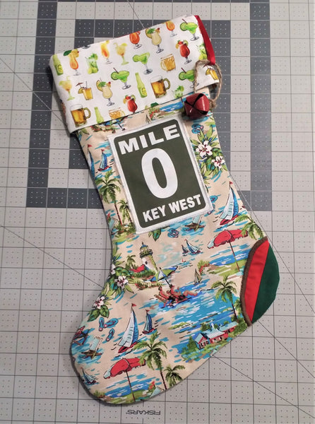 Custom Key West Stocking