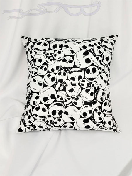 Nightmare Before Christmas fabric made into a throw pillow cover for you