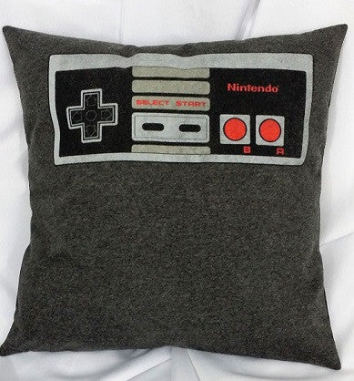 minecraft, assassin's creed, nintendo, and more gaming based pillow covers