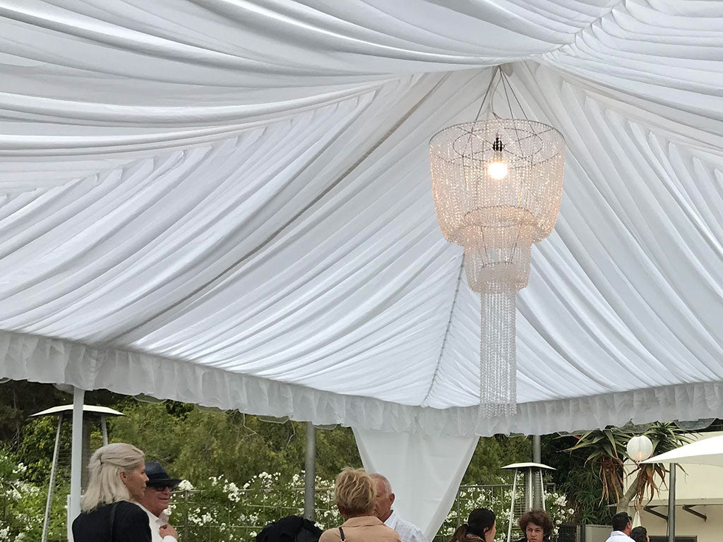 Canopy Rental at seven-degrees in Laguna Beach CA