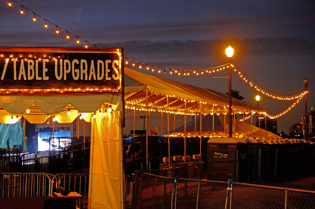 Music Festival Tent Rentals in Orange County CA