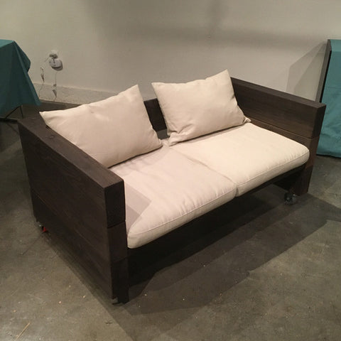 Rustic / Industrial Loveseat