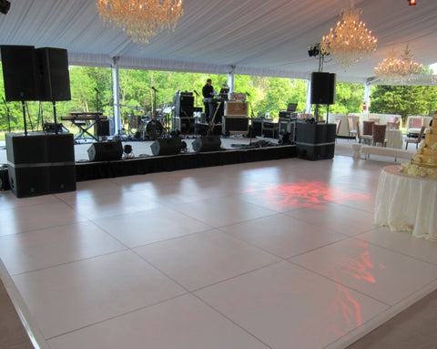 Dance Floor - White