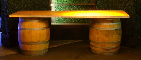 Wine Barrel Bar Kit