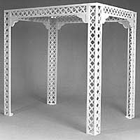 Lattice Chuppah