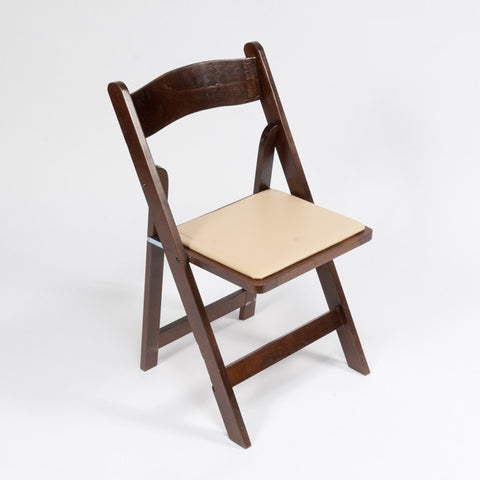 Fruitwood Comfort Folding Chair