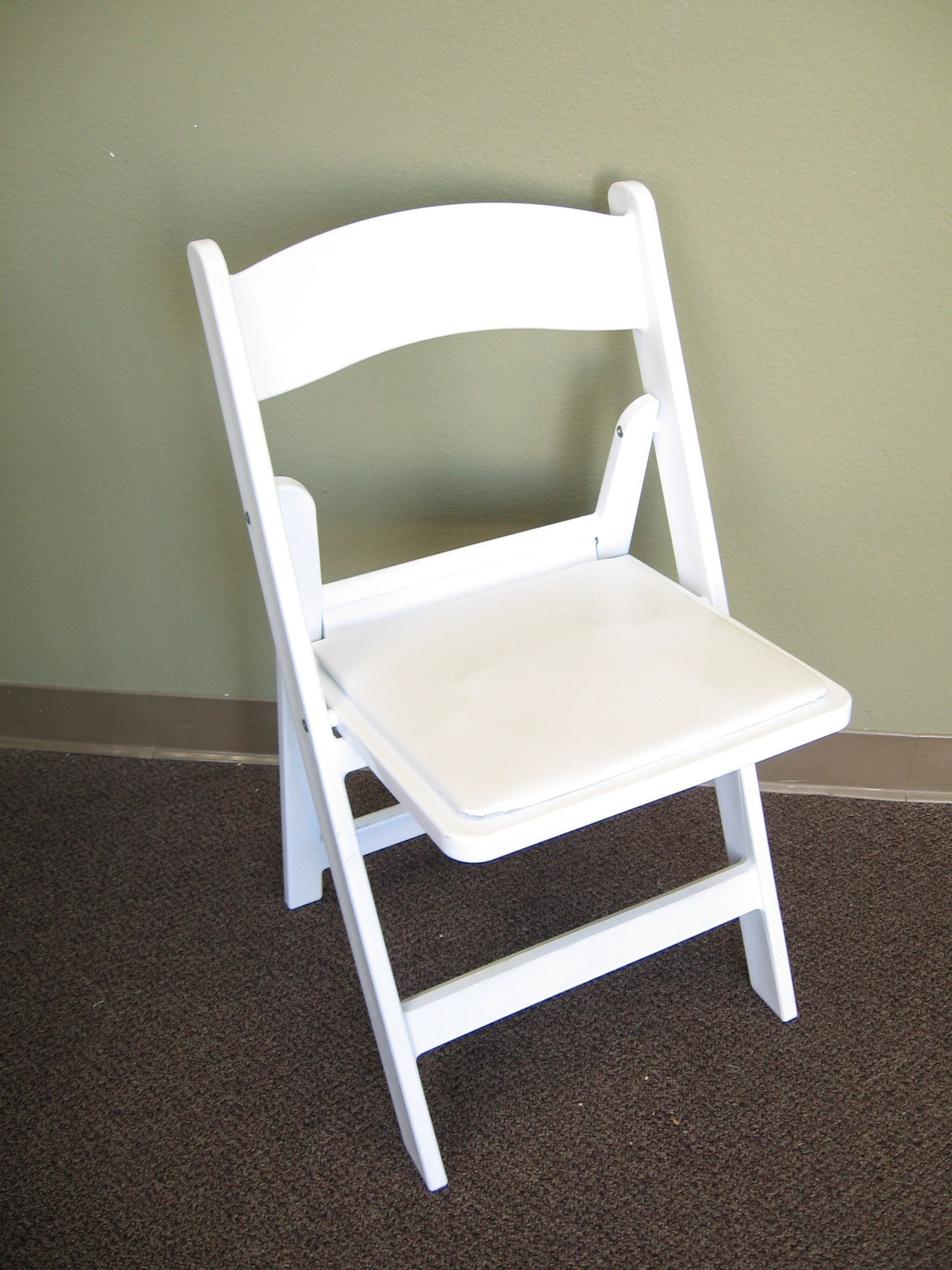 White fort Folding Chair for Rent
