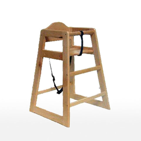 Wood High Chair