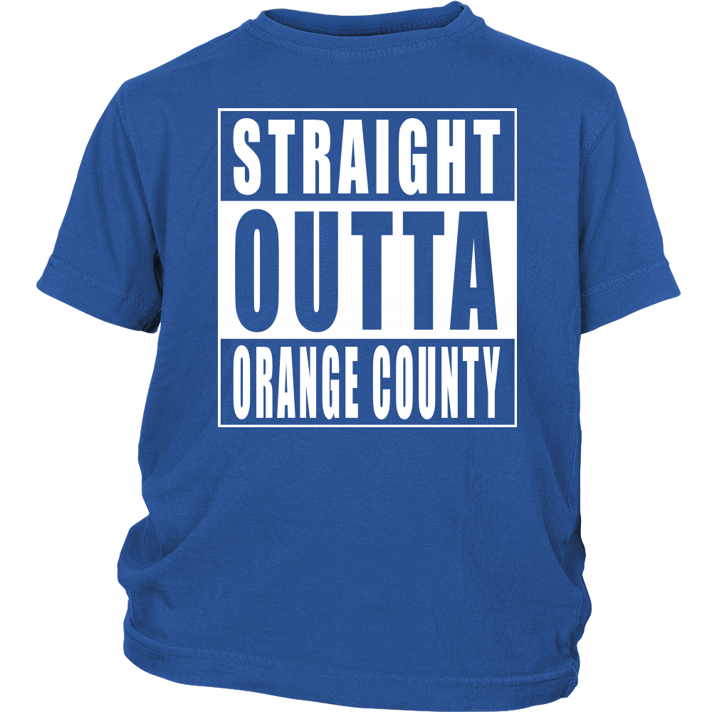 Straight Outta Orange County - Youth T-shirt